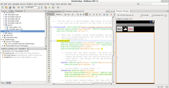 NetBEans IDE Android