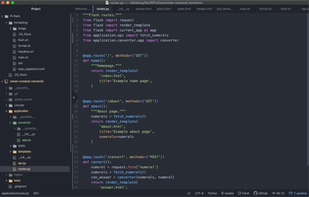 Python IDE Atom