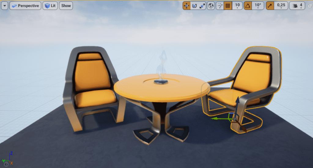 Unreal Engine Viewport
